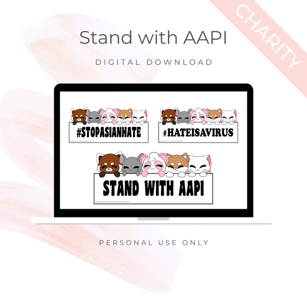 [CHARITY] Digital Download - Stand with AAPI