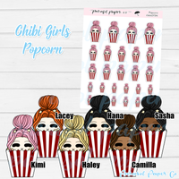 Chibi Girl - Movie Popcorn