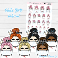 Chibi Girl - Takeout