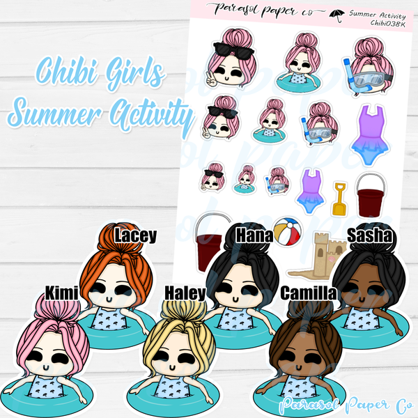 Chibi Girl - Summer Activity