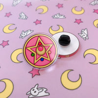 Crystal Star Acrylic Pin