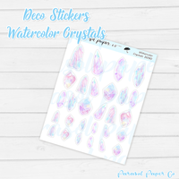 D090 - Watercolor Crystals