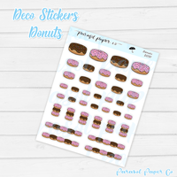 D091 - Donut Deco Stickers