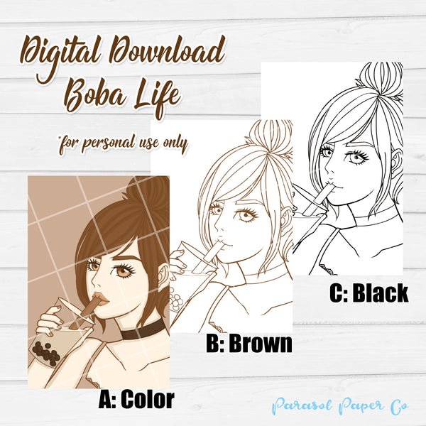 Digital Download - Boba Life