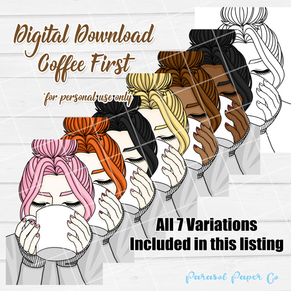 Digital Download - Coffee First