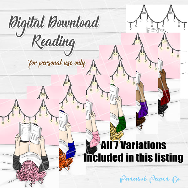 Digital Download - Reading Girls