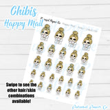 Chibi Girl - Happy Mail