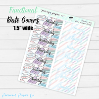 F059 - Planner Girl Date Covers