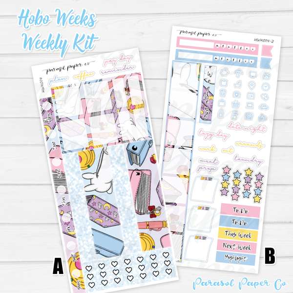 Hobo Weeks Kits | 014 | Planner Moon