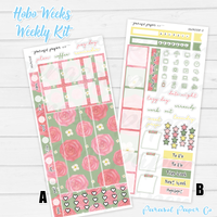 Hobo Weeks Kits | 008 | Small Blossoms