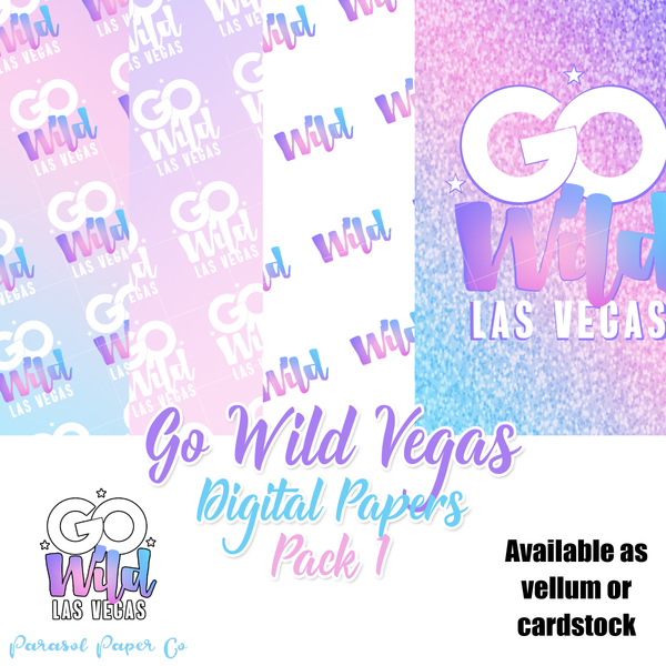 Go Wild - Digital Papers - Pack 1