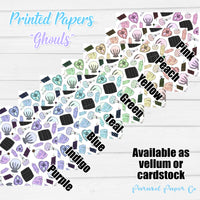 Ghouls Just Wanna Have Fun - Vellum and Cardstock Paper