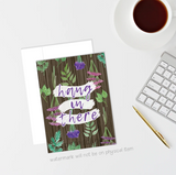 Plant Greeting Cards (Multiple Designs)