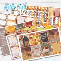 Hello Fall Weekly Kit