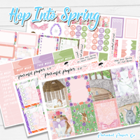 Hop Into Spring Weekly Kit