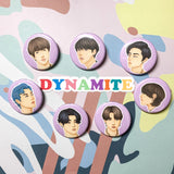 BTS DYNAMITE - Buttons