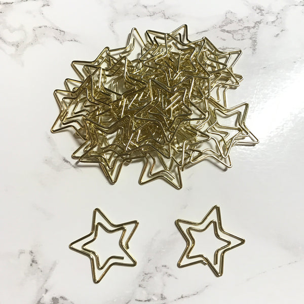 Gold Star Paperclips