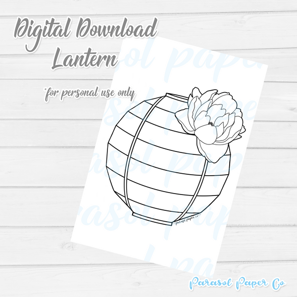 Digital Download - Lantern