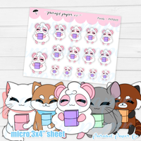 Pandy and Friends - Planner - PF005