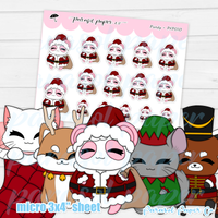 Pandy and Friends - Xmas Costume - PF010