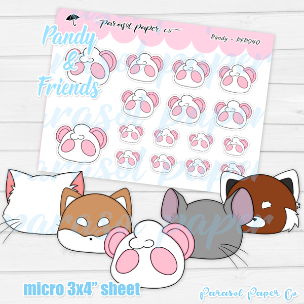 Pandy and Friends - DIY Emote - PF040