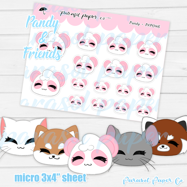 Pandy and Friends - Soft - PF046