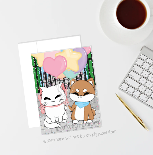 Character Greeting Cards (Multiple Designs)