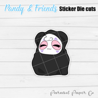 Pandy and Friends - Sticker Die Cut - Spirited Away