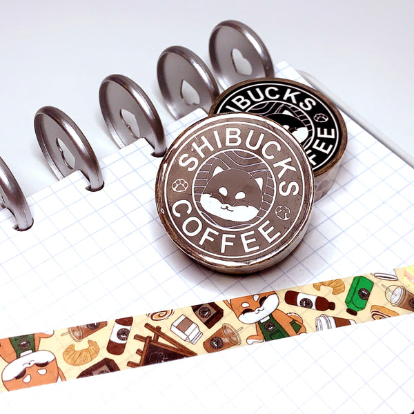 Shibucks Coffee Washi