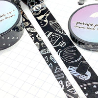 Ghouls Blackout Foiled Washi Set