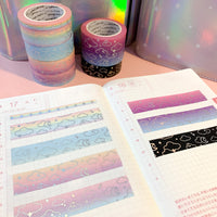 Dreamy Moonlight Foiled Washi Tape