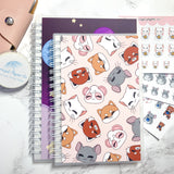 reusable sticker book pandy