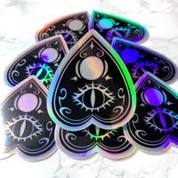 [WATERPROOF] Holographic Planchette Vinyl Decal