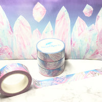 Daylight Shattered Crystals Foiled Washi