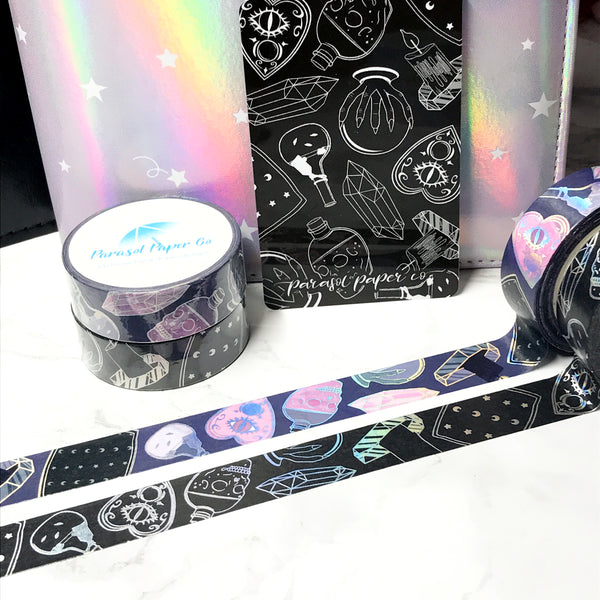 [SET] Ghouls + Blackout Ghouls Foiled Washi Set- 2 PER PERSON LIMIT