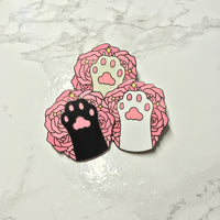 Cat Paw Enamel Pins