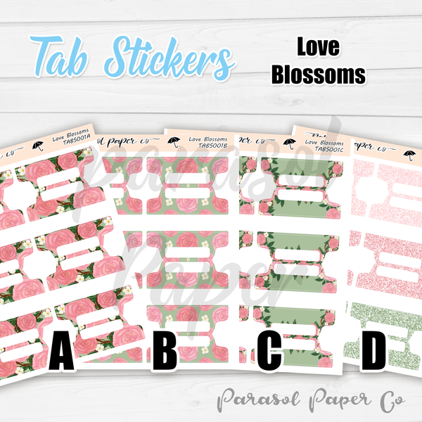 T001 - Love Blossoms Tabs