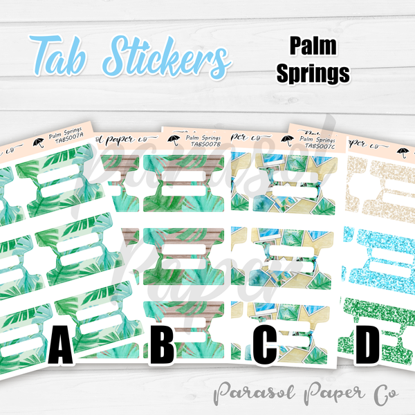 T007 - Palm Springs Tabs