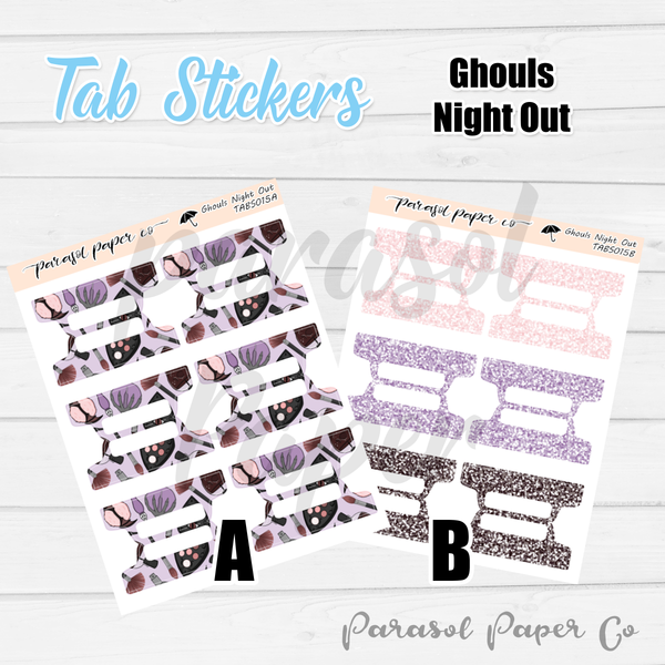 T0015 - Ghouls Night Out Tabs