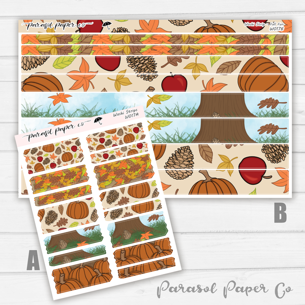Washi Strips - Fall Fun - W017