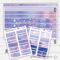 Washi Strips - Soft Skies - W022