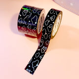 Midnight Moonlight Foiled Washi Tape