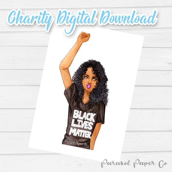 [CHARITY] Digital Download - Black Lives Matter Sasha