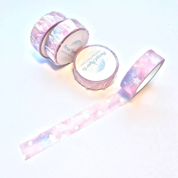 Washi Tape - Cotton Candy Skies