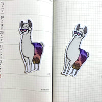 [WATERPROOF] Go Wild - Planaheim Llama - Vinyl Sticker Decal