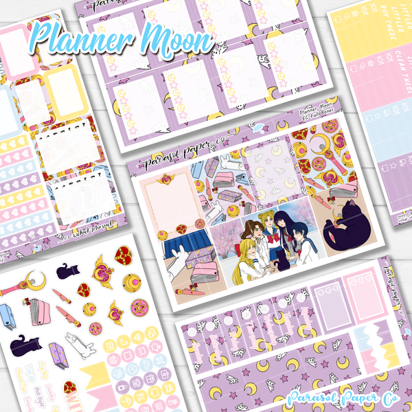 Planner Moon Weekly Kit