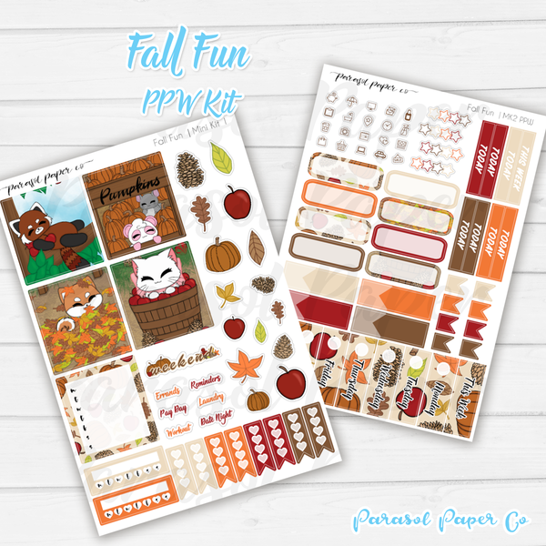 PPW  Mini Kit - Fall Fun