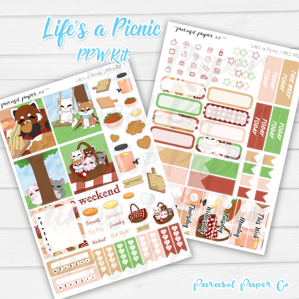 PPW  Mini Kit - Life's a Picnic