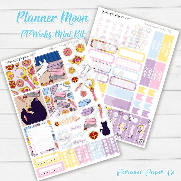 PPW Mini Kit - Planner Moon