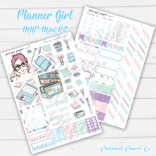 MPH Mini Kit - Planner Girl